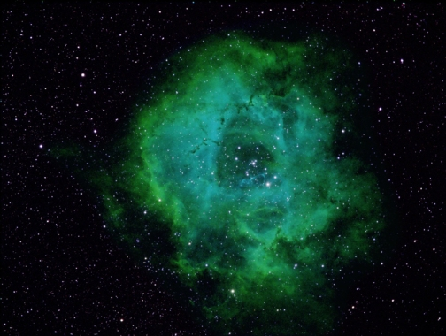 The Rosette Nebula. [Credit: Herb Bubert]
